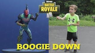 Twin vs Twin:  Fortnite Dance Challenge In Real Life 5