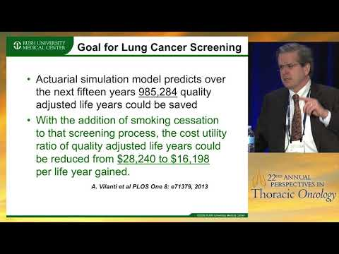 Lung cancer screening: Challenges and benefits