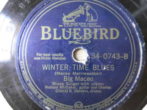 Chicago Breakdown; Winter Time Blues - Big Maceo