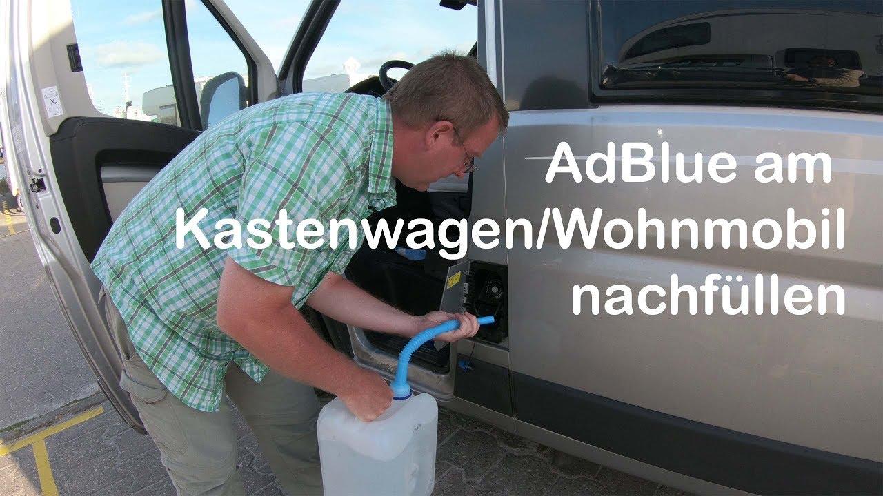 Adblue Nachfüllen Citroen Jumper – fahrzeug
