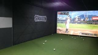 Screen baseball in Korea