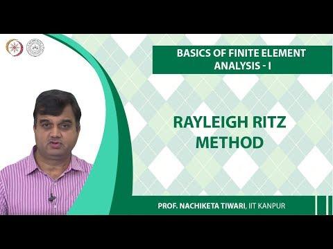 Rayleigh Ritz Method