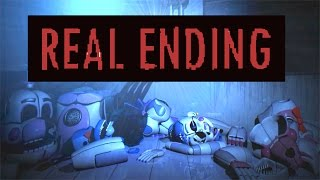 █▬█ █ ▀█▀ REAL ENDING!! Five Nights at Freddy