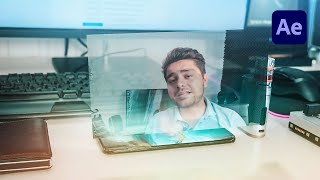 How To Create Futuristic Smartphone Holograms in After Effects