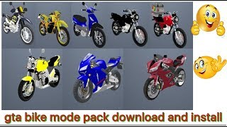 GTA San Andreas Bike Mods Pack for PC | KTM | How to install (gta gaming tips)
