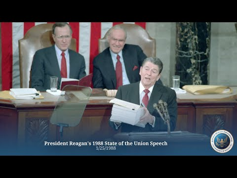 State of the Union: President Reagan's State of the Union Speech - 1/25/88