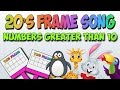 Tens Frame Song (Double Tens Frame) Add to Numbers Greater than 10!!