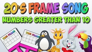 Video 20's Frame Song (Double Tens Frame) Add to Numbers Greater than 10!! download MP3, 3GP, MP4, WEBM, AVI, FLV Desember 2017