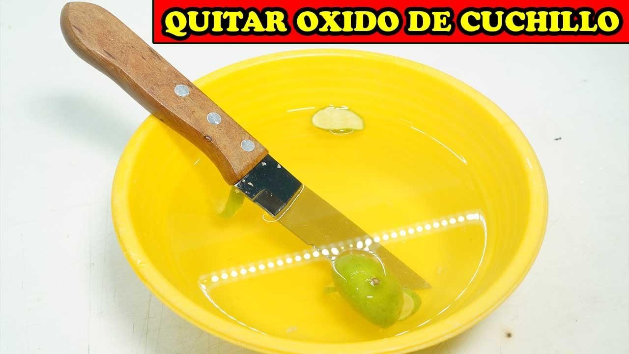 Quitar Oxido A Cuchillo De SUPERVIVENCIA - TUTORIAL EFECTIVO - YMX supervivencia
