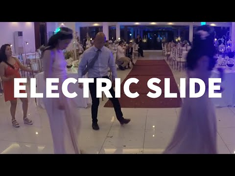Electric Slide Line Dance - Achy Breaky Heart by Billy Ray Cyrus