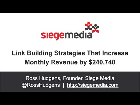 Link Building Strategies That Increase Monthly Revenue by $240,740