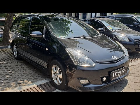 In Depth Tour Toyota Wish [AE10] Facelift (2006) - Indonesia