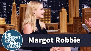 Margot Robbie Tattoos Friends Like Cara Delevingne for Fun by : The Tonight Show Starring Jimmy Fallon