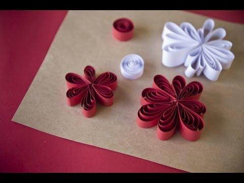 C mo hacer flores de papel youtube - Como hacer flores ...