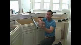 Cabinet Installation 5