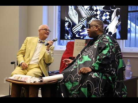 Manolo Blahnik in conversation with André Leon Talley - YouTube