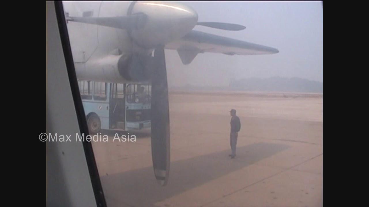 Download Laos Vientiane Airport Flight to Phonsovan Part 2