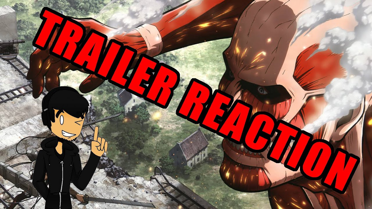 Attack on Titan for 3DS trailer reaction - YouTube
