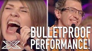 X Factor Ukraine Contestant Delivers Bulletproof Performance! | X Factor Global