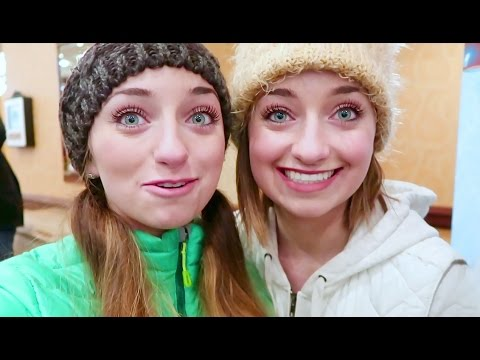 Ice Sculptures and ACT Scores | 12 Days of Vlogmas {Day 10} | Brooklyn and Bailey