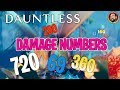 Dauntless | Damage Numbers Explained