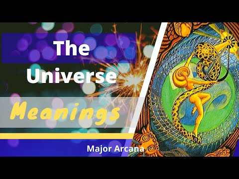 21 The Universe Tarot Card Meanings And Description Youtube