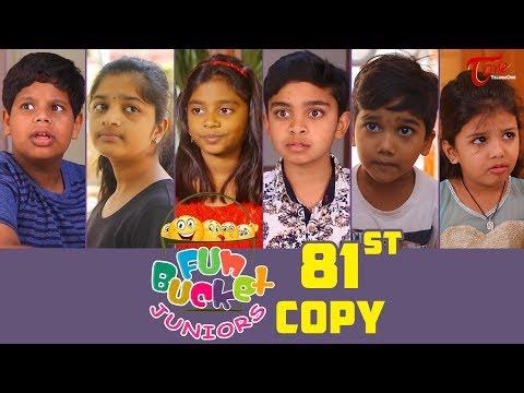 Fun Bucket JUNIORS   HAPPY NEW YEAR 2019   Episode 81   Kids Funny Videos   By Sai Teja - TeluguOne