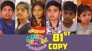 Fun Bucket JUNIORS | HAPPY NEW YEAR 2019 | Episode 81 | Kids Funny Videos | By Sai Teja - TeluguOne