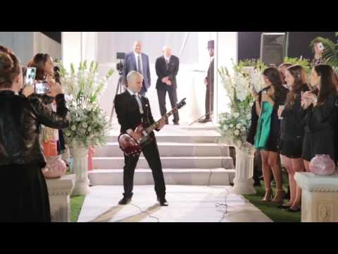 November Rain Guitar solo wedding entrance