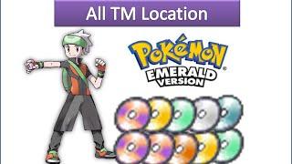 Gambar cover Pokemon Emerald - All TM Locations