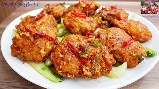 GÀ CHIÊN SỐT DẦU HÀO - Gần 300 bạn đoán tên món ăn mà chưa có ai đoán đúng by Vanh Khuyen
