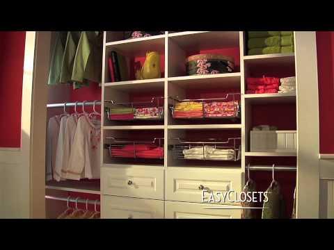 Do It Yourself Closet Organization