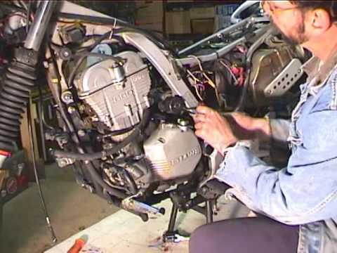 How To Remove Starter Motor Motorcycle