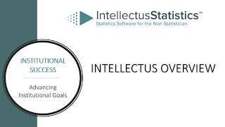 Intellectus Statistics Overview 2019