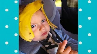 TOP 10 | Funniest Babies Vs Fruit That Will Make You Laugh Hard | Funny Babies and Pets