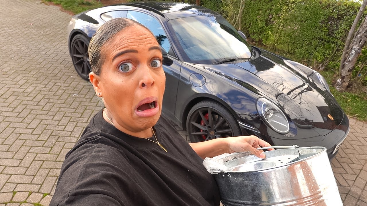 This Could Go VERY WRONG! Washing 100k Car For The First Time