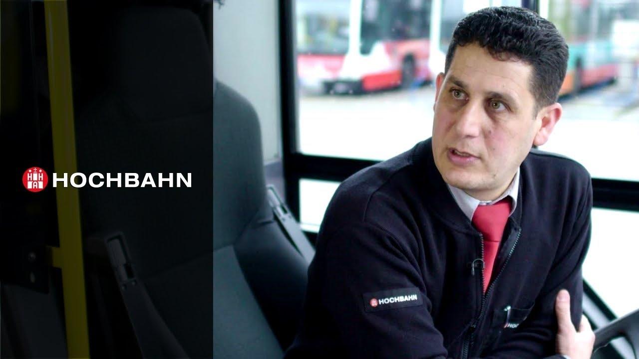 Flüchtlinge Als Busfahrer In Hamburg Youtube