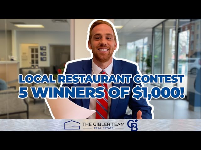 LOCAL RESTAURANT CONTEST WINNERS! (THE GIBLER TEAM)