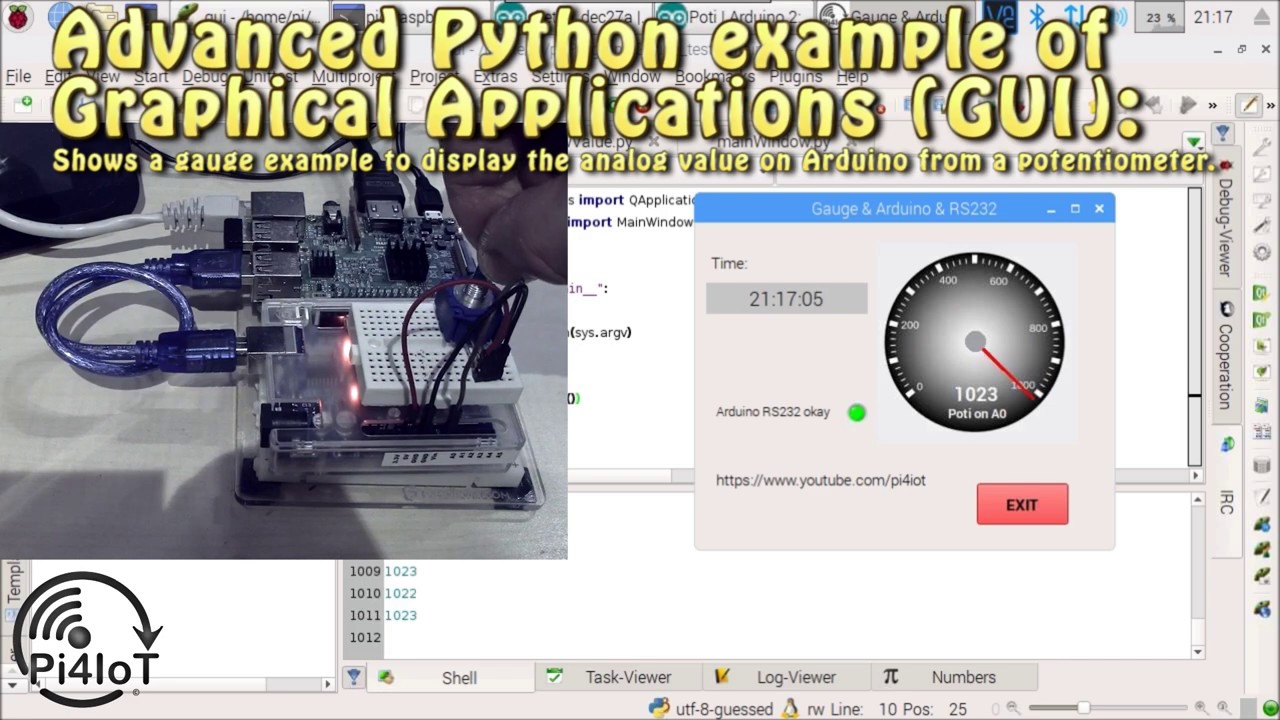 Python GUI Example Part#4 – Advanced Python Graphical