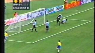 1999 (September 7) Brazil 4-Argentina 2 (Friendly).mpg