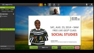 Free GED Class- Social Studies - Clip