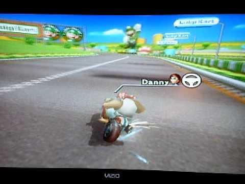 "[MKWii]  Luigi Circuit - 1' 11""245 By Danny"