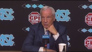 UNC Men's Basketball: Roy Williams Post Michigan Press Conference
