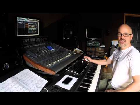 Bryan Clark: A Day in the Studio - Mixing an orchestral session