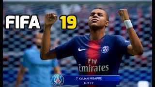 [PC] PSG vs Manchester City | UEFA Champions League | FIFA 19 Demo | Legend