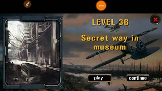 Expedition For Survival Level 36 SECRET WAY IN MUSEUM Walkthrough Game Guide HFG ENA