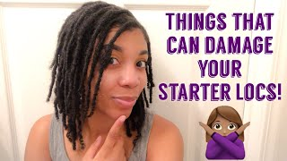 Late Night Loc Talk: TOP Things That Will Damage Your Starter Locs!