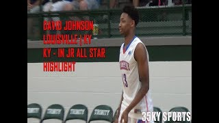 David Johnson #1 Player Kentucky Class Of 2019 | KY vs. IN Jr All Star Highlight