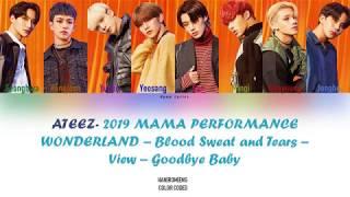 ATEEZ - 2019 MAMA Performance (CLEAR AUDIO) Lyrics (Han|Rom|Eng)
