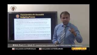 cma part 1 budgeting concepts forecasting techniques review dr musa shaikh